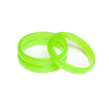 Pulseira de Acrílico Neon Verde